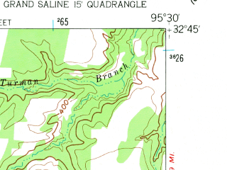 Reduced fragment of topographic map en--usgs--024k--017620--(1959)--N032-45-00_W095-37-30--N032-37-30_W095-30-00 in area of Lake Holbrook