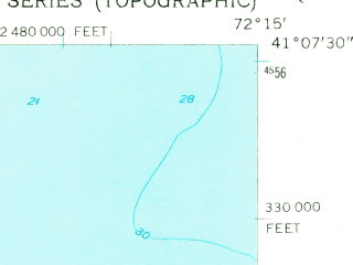 Reduced fragment of topographic map en--usgs--024k--018419--(1956)--N041-07-30_W072-22-30--N041-00-00_W072-15-00; towns and cities Dering Harbor, Greenport, Greenport West