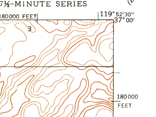 Reduced fragment of topographic map en--usgs--024k--018512--(1946)--N037-00-00_W120-00-00--N036-52-30_W119-52-30; towns and cities Bonadelle Ranchos-madera Ranchos Cd