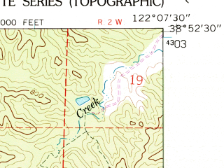 Reduced fragment of topographic map en--usgs--024k--018722--(1959)--N038-52-30_W122-15-00--N038-45-00_W122-07-30