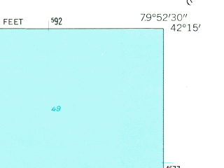 Reduced fragment of topographic map en--usgs--024k--019276--(1960)--N042-15-00_W080-00-00--N042-07-30_W079-52-30; towns and cities Northwest Harborcreek