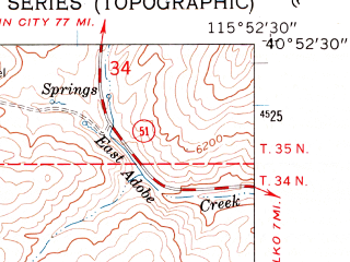 Reduced fragment of topographic map en--usgs--024k--021495--(1962)--N040-52-30_W116-00-00--N040-45-00_W115-52-30
