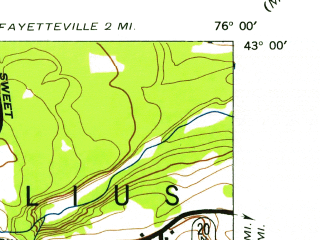 Reduced fragment of topographic map en--usgs--024k--022384--(1943)--N043-00-00_W076-07-30--N042-52-30_W076-00-00