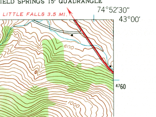 Reduced fragment of topographic map en--usgs--024k--022812--(1943)--N043-00-00_W075-00-00--N042-52-30_W074-52-30