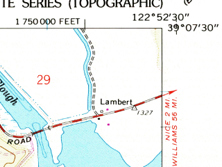 Reduced fragment of topographic map en--usgs--024k--024734--(1958)--N039-07-30_W123-00-00--N039-00-00_W122-52-30; towns and cities Lakeport