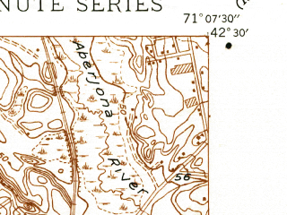 Reduced fragment of topographic map en--usgs--024k--025590--(1944)--N042-30-00_W071-15-00--N042-22-30_W071-07-30; towns and cities Waltham, Arlington, Belmont, Lexington
