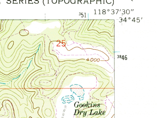 Reduced fragment of topographic map en--usgs--024k--025658--(1958)--N034-45-00_W118-45-00--N034-37-30_W118-37-30