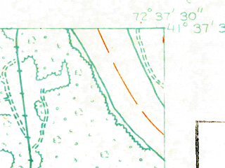 Reduced fragment of topographic map en--usgs--024k--029123--(1928)--N041-37-30_W072-45-00--N041-30-00_W072-37-30; towns and cities Middletown