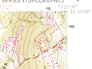 Reduced fragment of topographic map en--usgs--024k--031806--(1955)--N041-37-30_W073-30-00--N041-30-00_W073-22-30; towns and cities New Milford