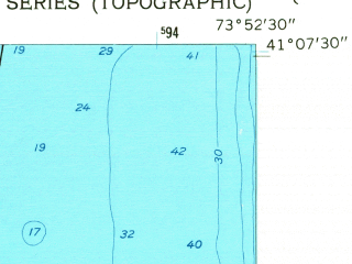 Reduced fragment of topographic map en--usgs--024k--032665--(1957)--N041-07-30_W074-00-00--N041-00-00_W073-52-30; towns and cities Tappan, Valley Cottage, Nyack, Piermont, Rockleigh