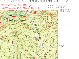 Reduced fragment of topographic map en--usgs--024k--032952--(1955)--N041-15-00_W112-00-00--N041-07-30_W111-52-30; towns and cities Ogden, South Ogden, Washington Terrace, South Weber, Uintah