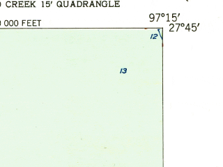 Reduced fragment of topographic map en--usgs--024k--033561--(1951)--N027-45-00_W097-22-30--N027-37-30_W097-15-00; towns and cities Corpus Christi