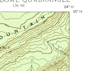 Reduced fragment of topographic map en--usgs--024k--033575--(1938)--N035-15-00_W084-37-30--N035-07-30_W084-30-00