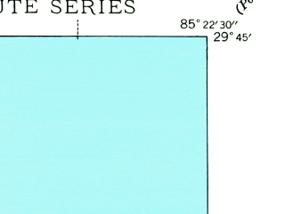 Reduced fragment of topographic map en--usgs--024k--039327--(1943)--N029-45-00_W085-30-00--N029-37-30_W085-22-30