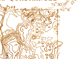 Reduced fragment of topographic map en--usgs--024k--042693--(1933)--N042-15-00_W072-37-30--N042-07-30_W072-30-00 in area of Connecticut; towns and cities Chicopee