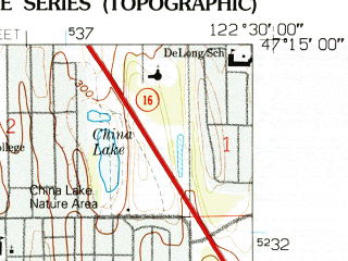 Reduced fragment of topographic map en--usgs--024k--043073--(1959)--N047-15-00_W122-37-30--N047-07-30_W122-30-00; towns and cities Lakewood, University Place, Fircrest, Steilacoom