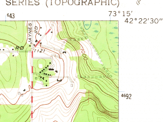 Reduced fragment of topographic map en--usgs--024k--043253--(1959)--N042-22-30_W073-22-30--N042-15-00_W073-15-00; towns and cities Lenox, Housatonic, Lee