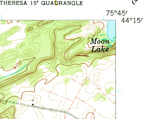 Reduced fragment of topographic map en--usgs--024k--044831--(1958)--N044-15-00_W075-52-30--N044-07-30_W075-45-00; towns and cities Theresa