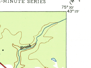 Reduced fragment of topographic map en--usgs--024k--046827--(1948)--N043-15-00_W075-37-30--N043-07-30_W075-30-00