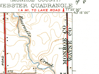 Reduced fragment of topographic map en--usgs--024k--047917--(1934)--N043-15-00_W077-30-00--N043-07-30_W077-22-30; towns and cities Webster