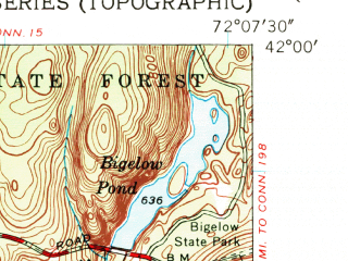 Reduced fragment of topographic map en--usgs--024k--048411--(1952)--N042-00-00_W072-15-00--N041-52-30_W072-07-30