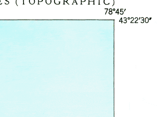 Reduced fragment of topographic map en--usgs--024k--049323--(1949)--N043-22-30_W078-52-30--N043-15-00_W078-45-00; towns and cities Wilson