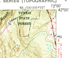 Reduced fragment of topographic map en--usgs--024k--049534--(1956)--N042-00-00_W073-07-30--N041-52-30_W073-00-00; towns and cities Winsted
