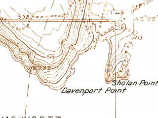 Reduced fragment of topographic map en--usgs--024k--049872--(1934)--N042-22-30_W071-52-30--N042-15-00_W071-45-00; towns and cities Worcester