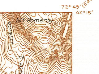 Reduced fragment of topographic map en--usgs--024k--049885--(1937)--N042-15-00_W072-52-30--N042-07-30_W072-45-00; towns and cities Westfield