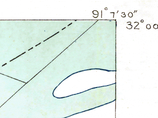 Reduced fragment of topographic map en--usgs--024k--071487--(1909)--N032-00-00_W091-15-00--N031-52-30_W091-07-30; towns and cities St. Joseph