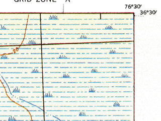 Reduced fragment of topographic map en--usgs--063k--051089--(1940)--N036-30_W076-45--N036-15_W076-30