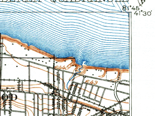 Reduced fragment of topographic map en--usgs--063k--051213--(1904)--N041-30_W082-00--N041-15_W081-45; towns and cities Lakewood, Westlake, North Olmsted, Parma Heights, Fairview Park