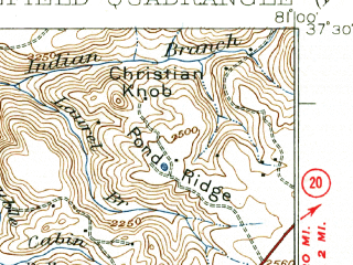 Reduced fragment of topographic map en--usgs--063k--051561--(1926)--N037-30_W081-15--N037-15_W081-00; towns and cities Princeton, Athens, Matoaka