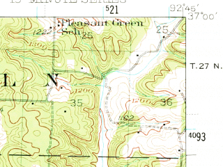 Reduced fragment of topographic map en--usgs--063k--051729--(1943)--N037-00_W093-00--N036-45_W092-45