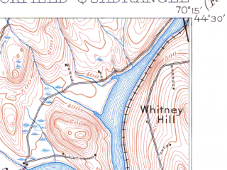Reduced fragment of topographic map en--usgs--063k--051877--(1911)--N044-30_W070-30--N044-15_W070-15