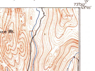 Reduced fragment of topographic map en--usgs--063k--052266--(1897)--N043-45_W073-15--N043-30_W073-00 in area of Lake Bomoseen; towns and cities Poultney, West Rutland