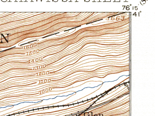 Reduced fragment of topographic map en--usgs--063k--052272--(1894)--N041-00_W076-30--N040-45_W076-15; towns and cities Mount Carmel, Gordon, Kulpmont, Marion Heights