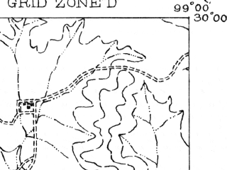 Reduced fragment of topographic map en--usgs--063k--052322--(1956)--N030-00_W099-15--N029-45_W099-00