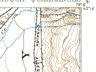 Reduced fragment of topographic map en--usgs--063k--052456--(1904)--N042-15_W079-30--N042-00_W079-15; towns and cities Bemus Point, Celoron, Jamestown West