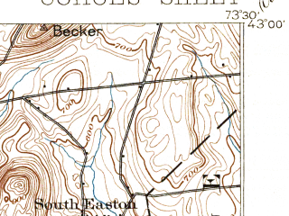 Reduced fragment of topographic map en--usgs--063k--052751--(1895)--N043-00_W073-45--N042-45_W073-30 in area of Tomhannock Reservoir; towns and cities Cohoes, Mechanicville, Waterford, Schaghticoke, Stillwater