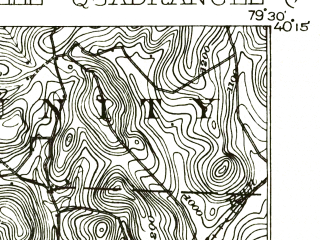 Reduced fragment of topographic map en--usgs--063k--052878--(1931)--N040-15_W079-45--N040-00_W079-30; towns and cities Connellsville, Scottdale, Vanderbilt, Dawson, Youngwood