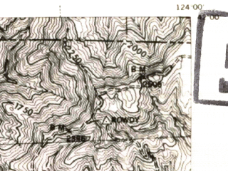 Reduced fragment of topographic map en--usgs--063k--053074--(1945)--N042-00_W124-15--N041-45_W124-00 in area of Lake Earl; towns and cities Crescent City, Crescent City North