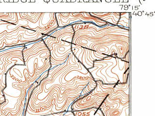 Reduced fragment of topographic map en--usgs--063k--053780--(1902)--N040-45_W079-30--N040-30_W079-15; towns and cities Atwood, Avonmore, Elderton