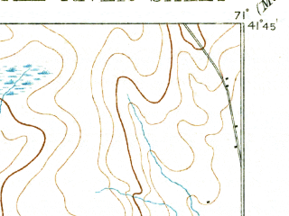 Reduced fragment of topographic map en--usgs--063k--054061--(1893)--N041-45_W071-15--N041-30_W071-00 in area of North Watuppa Pond; towns and cities Fall River, Somerset, Tiverton, North Westport, Ocean Grove