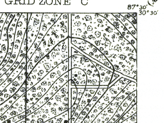Reduced fragment of topographic map en--usgs--063k--054217--(1921)--N030-30_W087-45--N030-15_W087-30; towns and cities Elberta, Foley, Gulf Shores