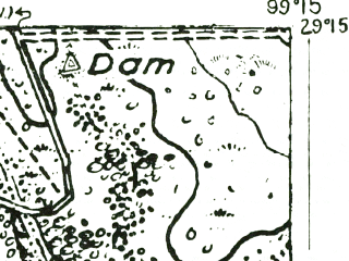 Reduced fragment of topographic map en--usgs--063k--054414--(1928)--N029-15_W099-30--N029-00_W099-15