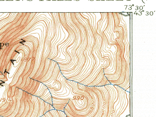 Reduced fragment of topographic map en--usgs--063k--054614--(1895)--N043-30_W073-45--N043-15_W073-30; towns and cities Glens Falls, Glens Falls North, Hudson Falls, West Glens Falls, Fort Edward