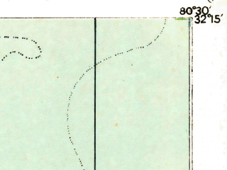 Reduced fragment of topographic map en--usgs--063k--055356--(1920)--N032-15_W080-45--N032-00_W080-30; towns and cities Hilton Head Island