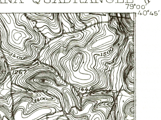 Reduced fragment of topographic map en--usgs--063k--055747--(1902)--N040-45_W079-15--N040-30_W079-00; towns and cities Indiana, Chevy Chase Heights, Clymer, Creekside