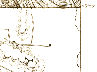 Reduced fragment of topographic map en--usgs--063k--055861--(1920)--N045-00_W072-45--N044-45_W072-30; towns and cities Richford
